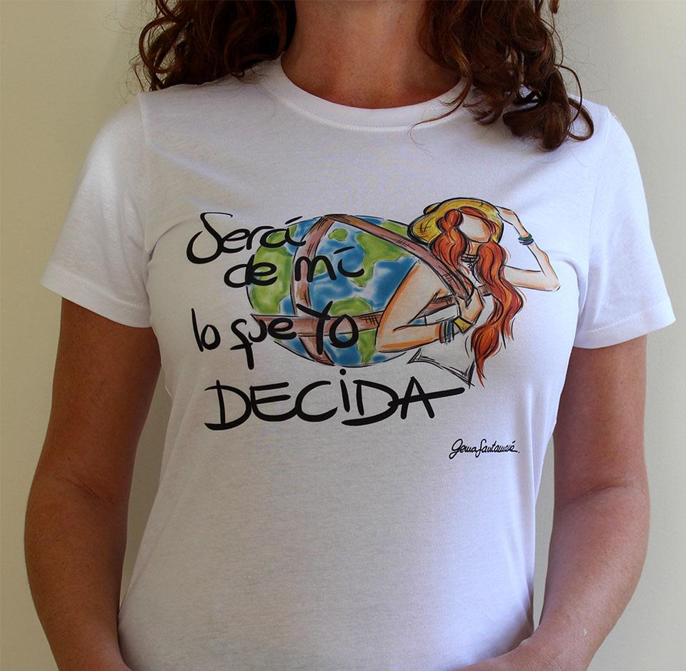 Camiseta – Será de mí