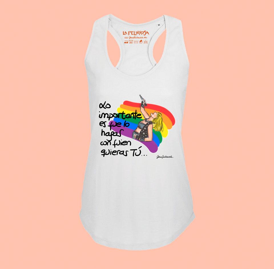 Camiseta Tirantes – Modelo Rafaella